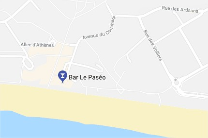 Map Le Paseo