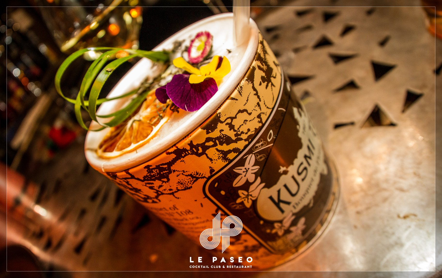 Le Paseo - Cocktail club- KusmiTeaCocktail
